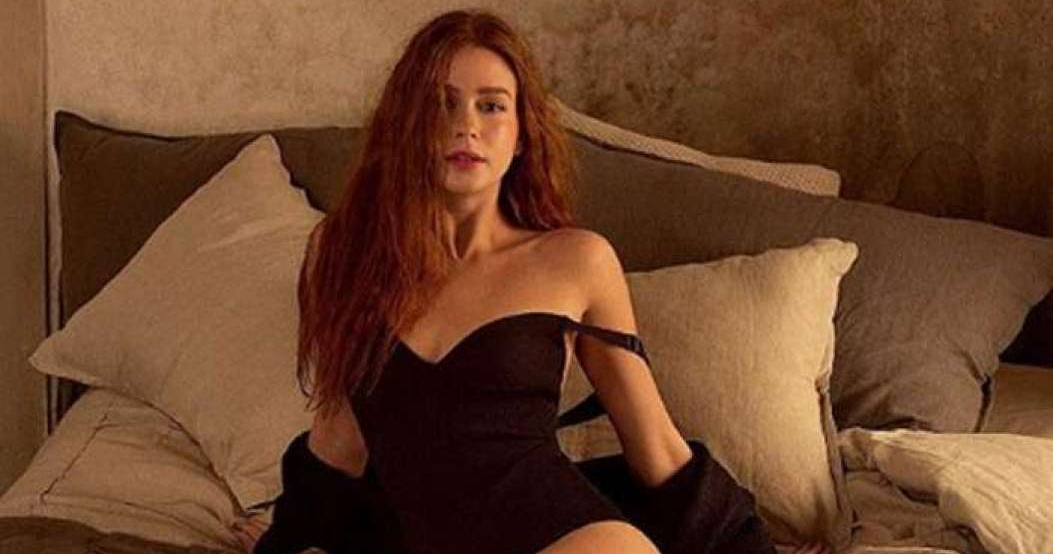 Marina Ruy Barbosa posa para ensaio fotográfico