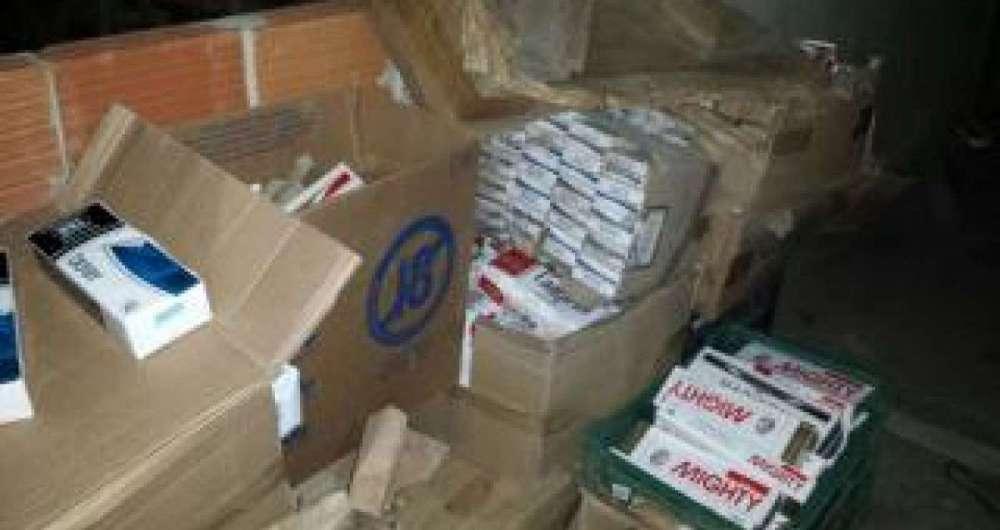 Mais de 200 mil ma�os de cigarros contrabandeados s�o apreendidos em Campo Grande