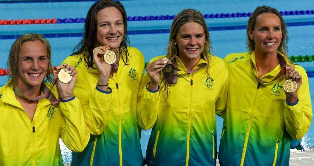 Equipe da Austr�lia bateu o recorde mundial