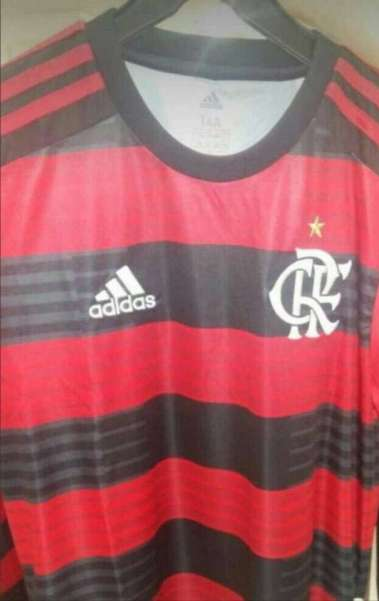 Nova camisa do Flamengo vaza na Internet