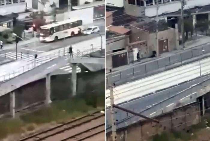 Policiais e bandidos trocam tiros em Olaria