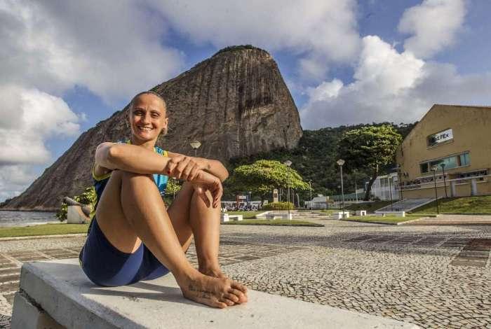 Fabi é bicampeã olímpica em Pequim 2008 e Londres 2012