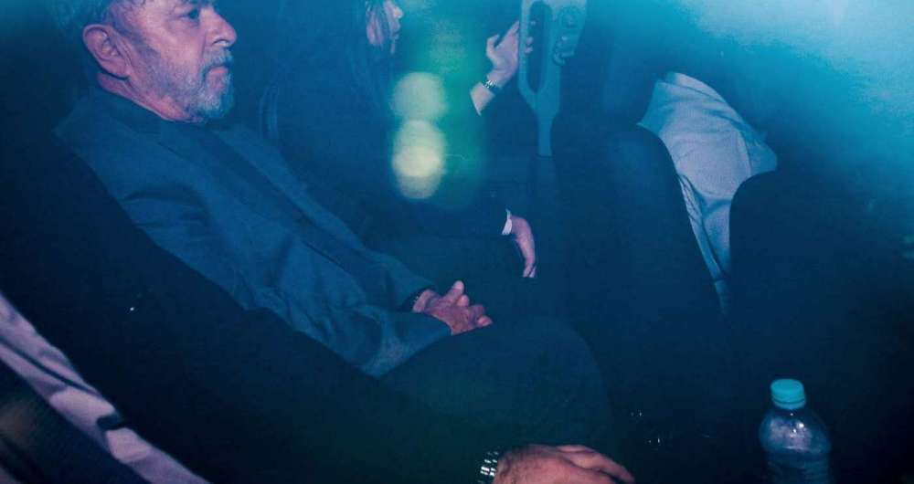 Lula chega a superintendência da Policia Federal em São Paulo