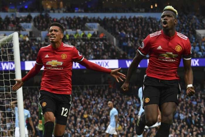 United levou a melhor no clássico de Manchester