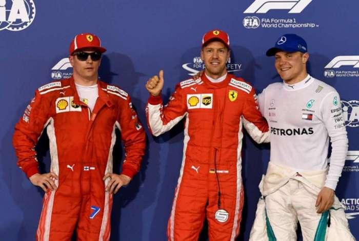 Vettel fez a pole do GP do Bahrein