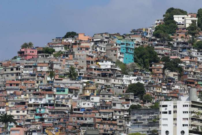 Morro do Vidigal, na Zona Sul do Rio