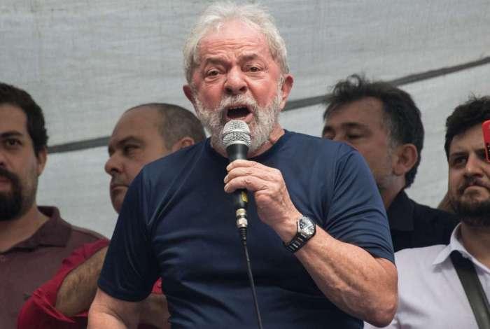 Ex-presidente Lula está preso na sede da PF em Curitiba