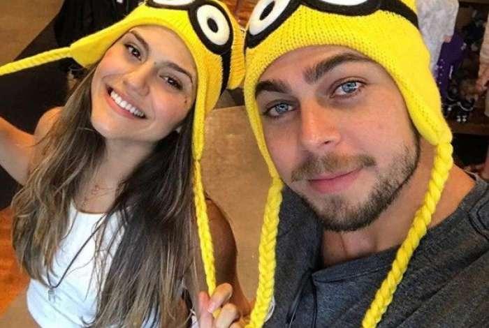 Jessika Alves e Ibraim Lopes