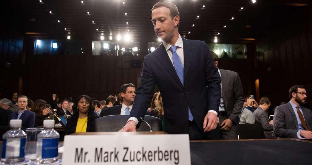 Zuckerberg, do Facebook, antes de depor no Senado americano