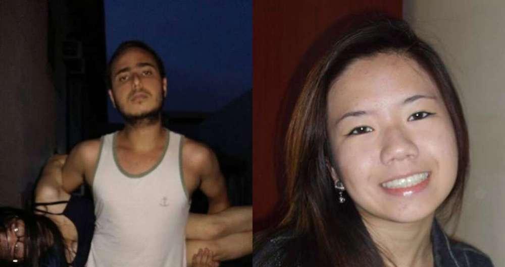 Altamiro Lopes dos Santos Neto, de 21 anos, � suspeito de matar a namorada Patr�cia Mitie Koike, de 22 anos