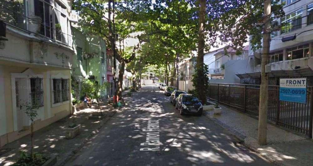 Rua Ramon Franco, na Urca