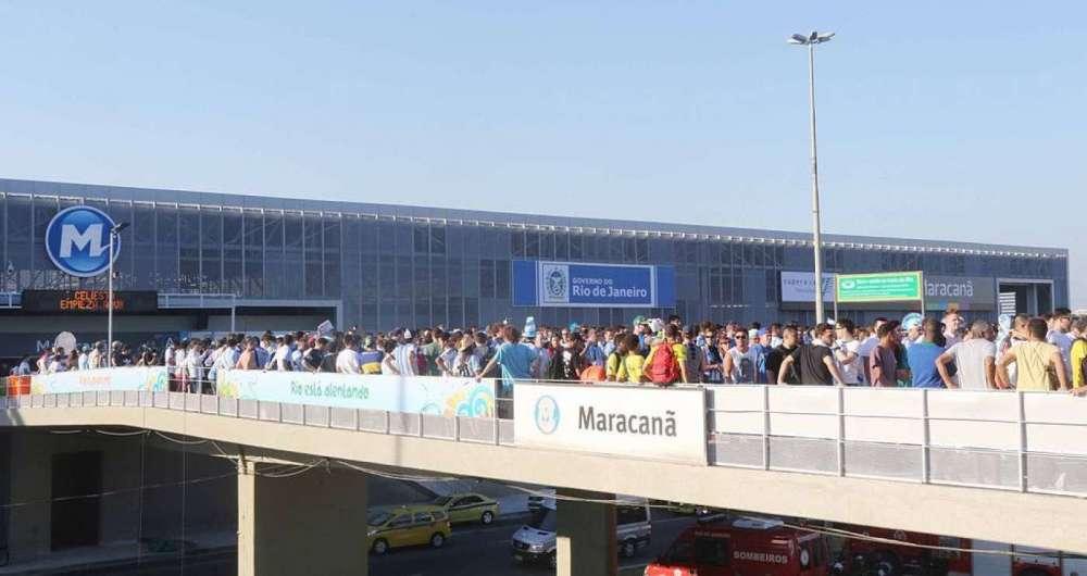Estação Maracanã do MetrôRio