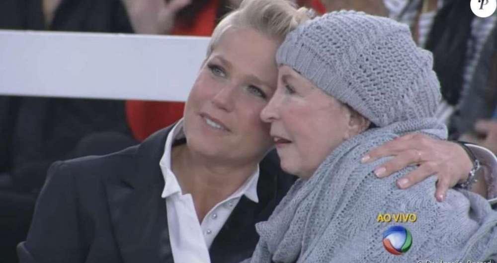 Xuxa e a mãe Alda Meneghel