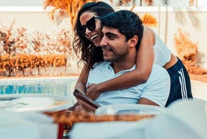 Anitta e o marido, o empresário Thiago Magalhães