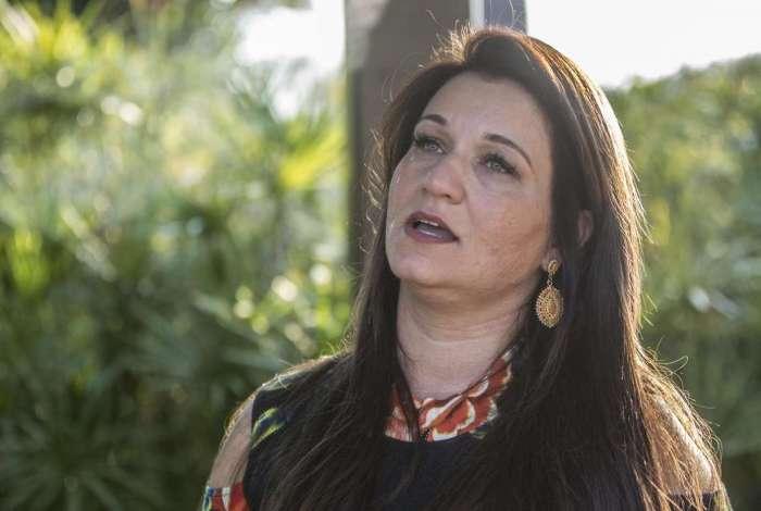 A ex-vereadora Carminha Jerominho