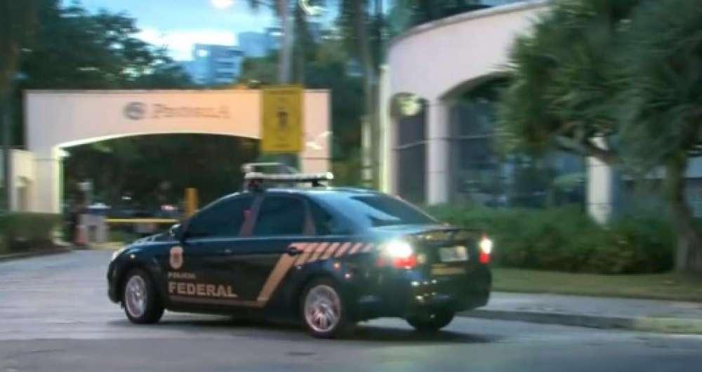 Agentes da PF estão nas ruas do Rio para cumprir mandados de prisão contra fraudes em fundos de pensão