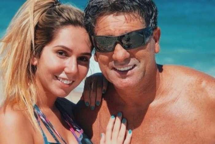 Carol Portaluppi e seu pai, Renato Gaúcho