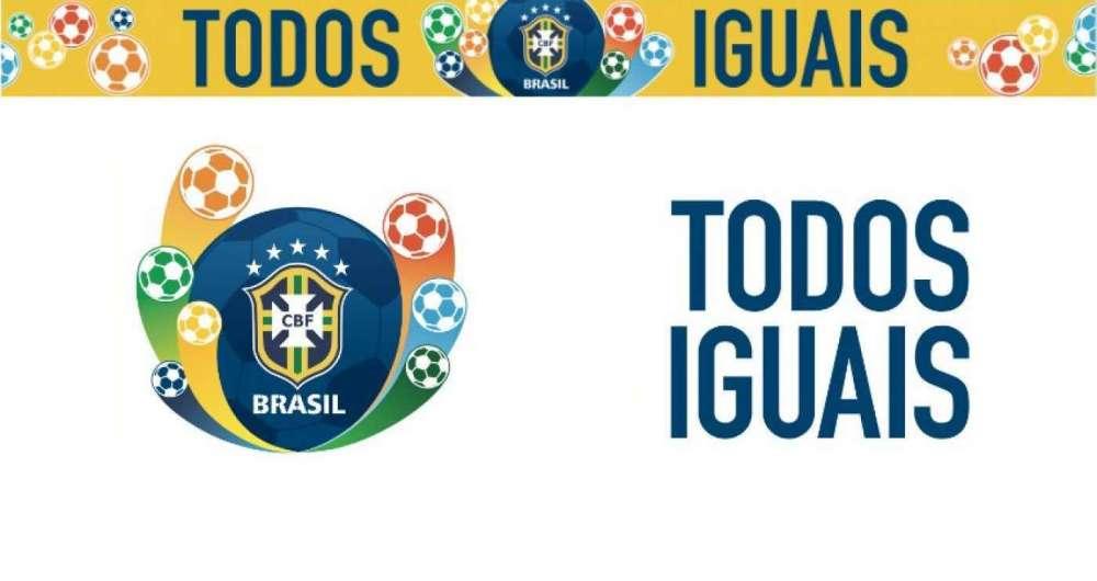 CBF lan�a campanha 'Todos Iguais'