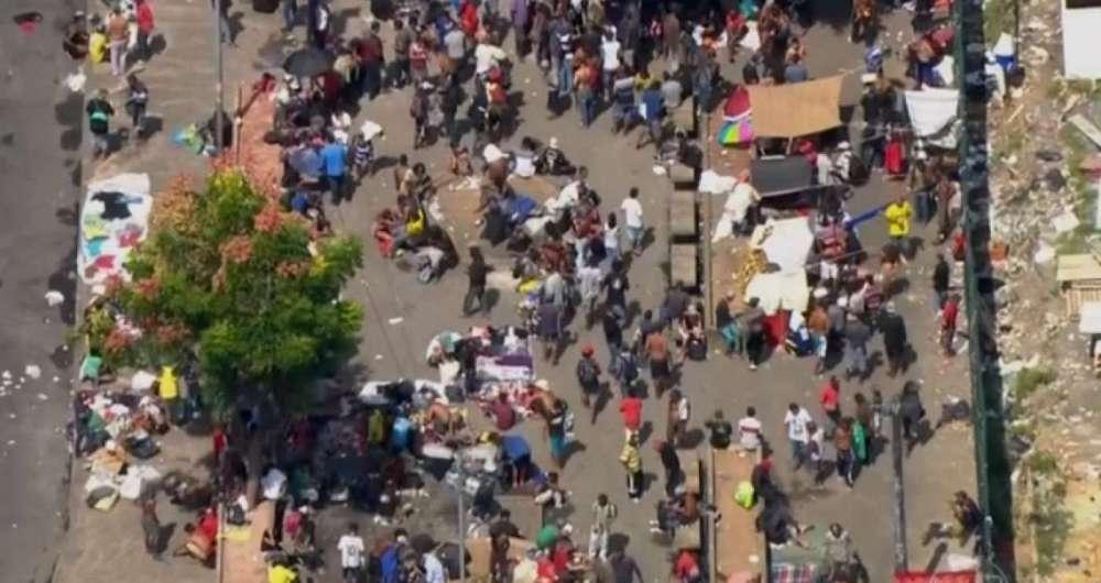 Centenas de usu�rios de crack se concentram em �rea Central de S�o Paulo