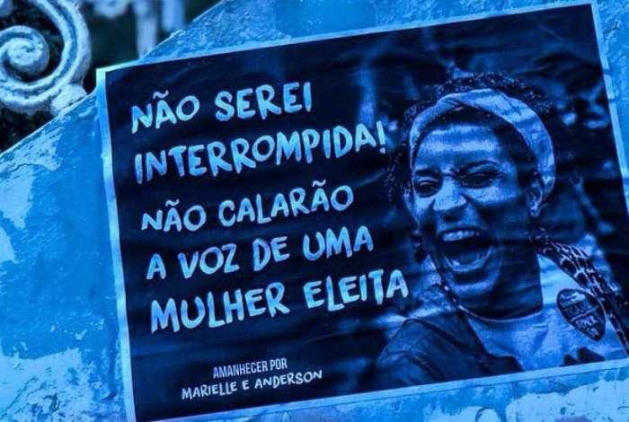 Marcha no Rio lembra um mês da morte de Marielle