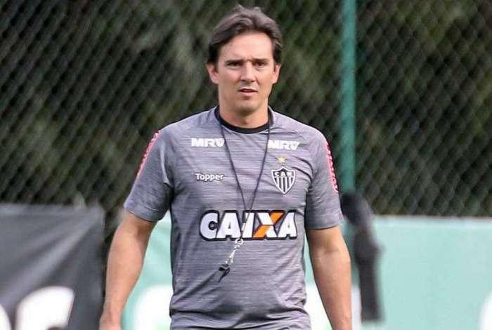 Técnico Thiago Larghi foi demitido do Atlético Mineiro