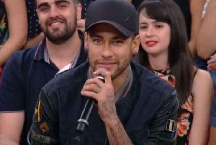 Neymar participou do programa 'Altas Horas'