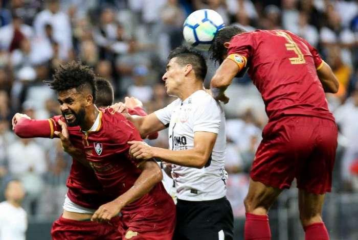 Fluminense perdeu para o Corinthians fora de casa