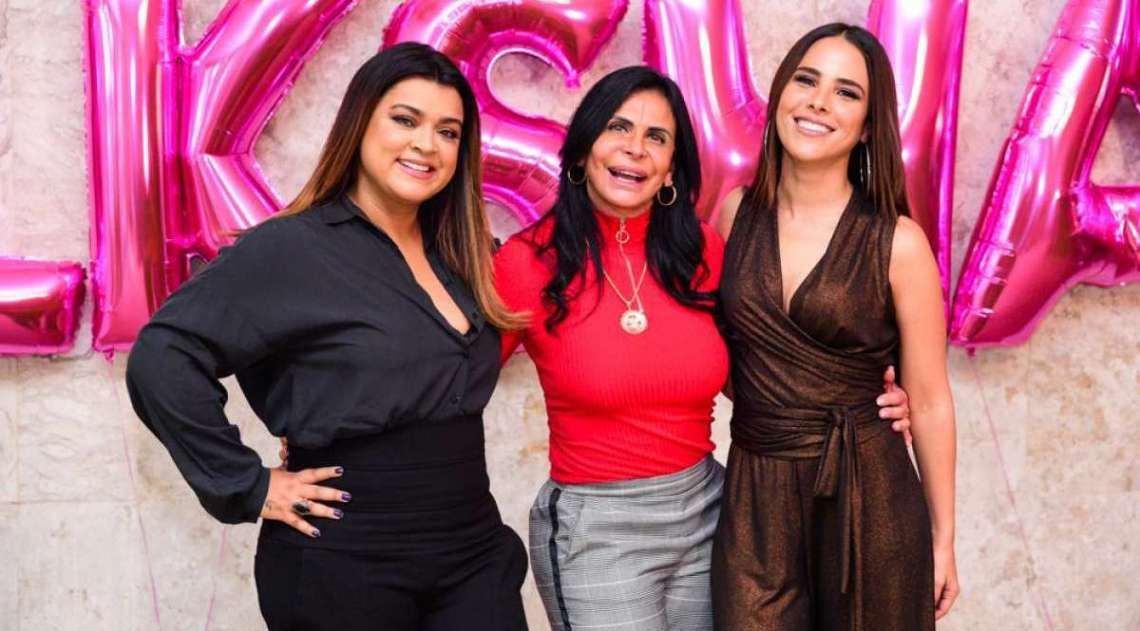 Preta Gil, Gretchen e Wanessa Camargo