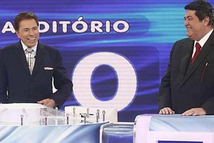 Silvio Santos e Datena