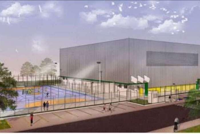 Proje��o do futuro Centro de Inicia��o Esportiva, em Campos dos Goytacazes