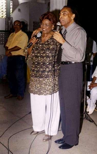 Dona Ivone Lara e Gilberto Gil