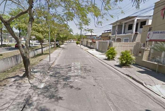 Avenida Mariana, em Campo Grande