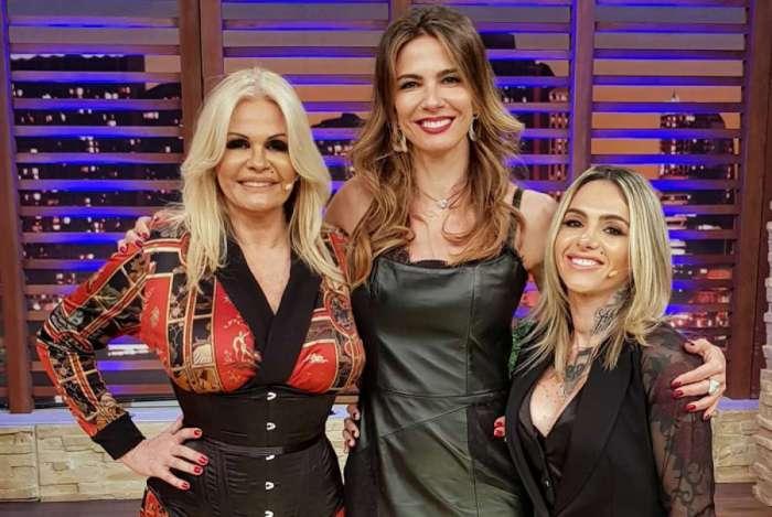 Monique Evans, Luciana Gimenez e Cac� Werneck