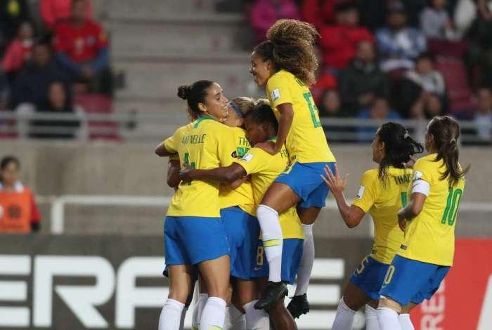 Seleção feminina divide a liderança com a Argentina na Copa América