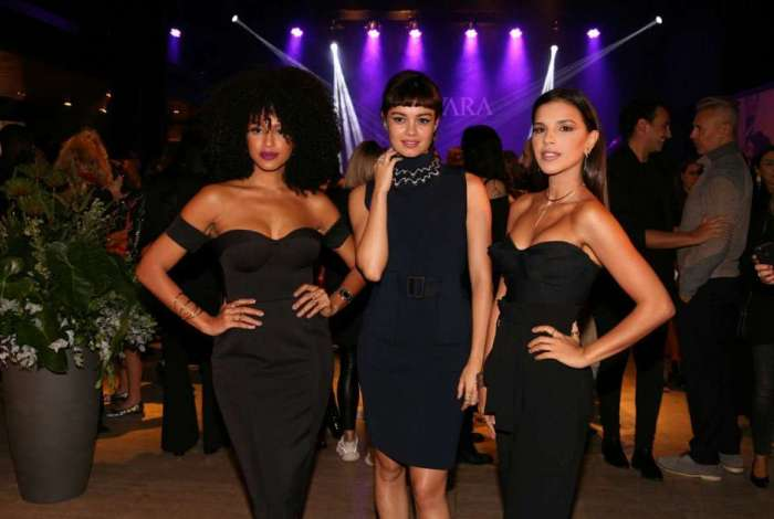 Sheron Menezzes, Sophie Charlotte e Mariana Rios