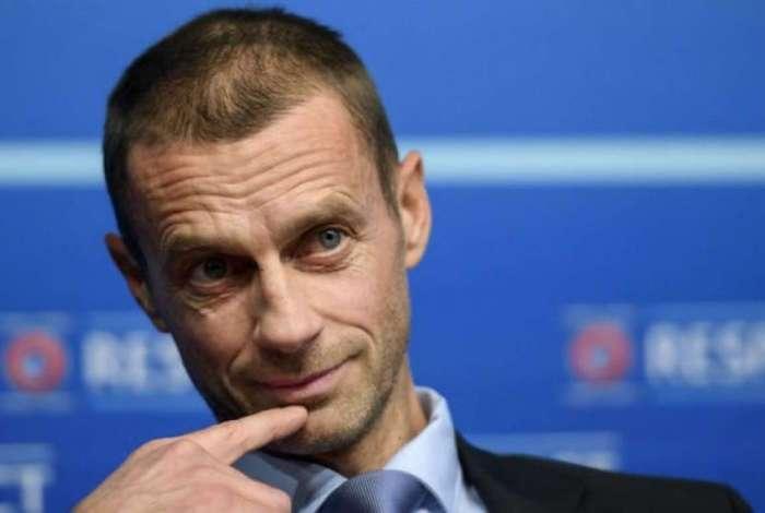 Aleksander Ceferin � o presidente da UEFA