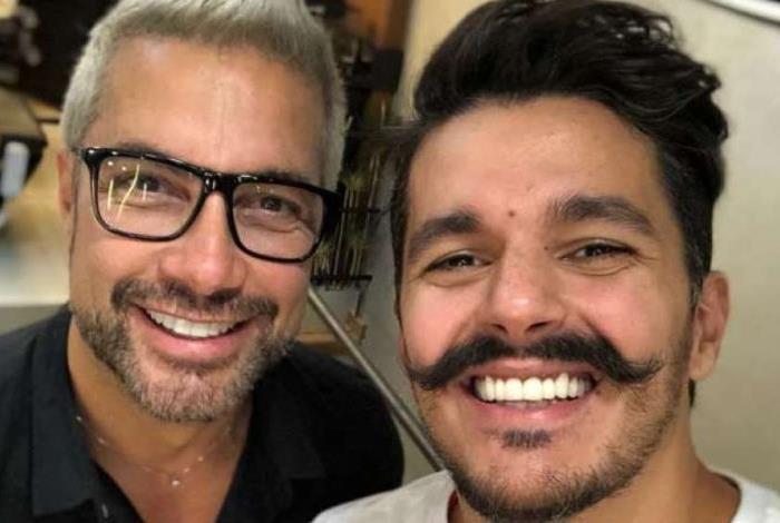 Bruno Lopes muda o visual com Fernando Torquatto