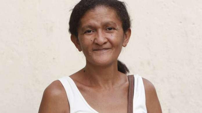 ANT�NIA CRISTINA, 51 anos, diarista, mora no Centro do Rio.
