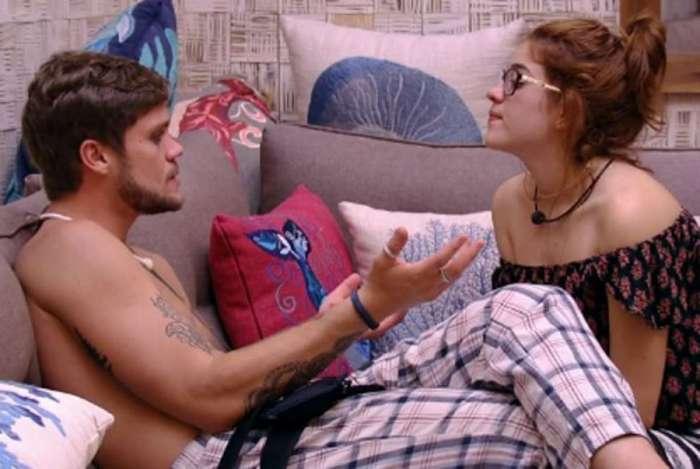 Breno e Ana Clara quando ainda estavam no 'BBB 18'
