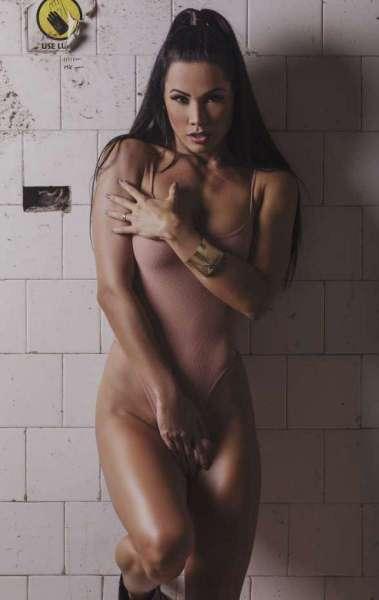 Fernanda D'Avila fez ensaio fotográfico