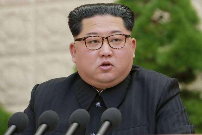 Kim Jon-un, líder da Coreia do Norte