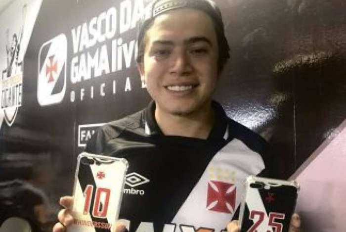 Whindersson Nunes é torcedor declarado do Vasco