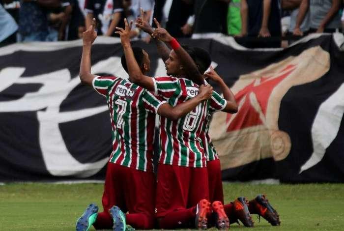 Fluminense derrotou o Vasco e garantiu a Taça Rio sub-20