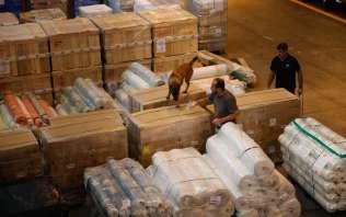PF apreende 100 quilos de heroína no Galeão