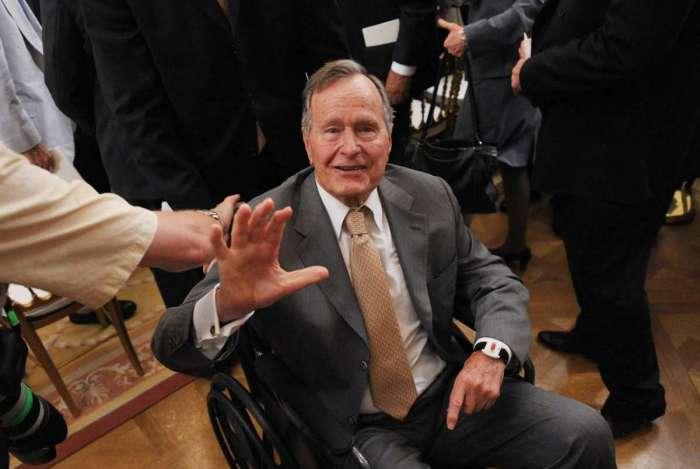 O ex-presidente George H. W. Bush
