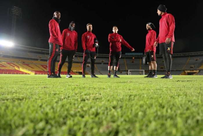 Flamengo enfrenta o Santa Fe nesta quarta