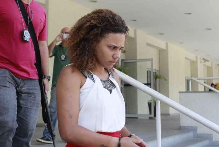 Gabriela da Costa Silva, de 23 anos, presa pela DRFC