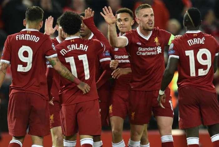 Liverpool goleou a Roma