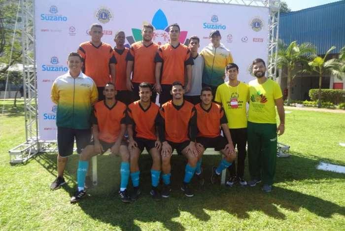 Os jogadores do futsal conquistaram a vaga para os jogos em Abu Dhabi em competi��o ocorrida em Suzano, S�o Paulo, no �ltimo fim de semana