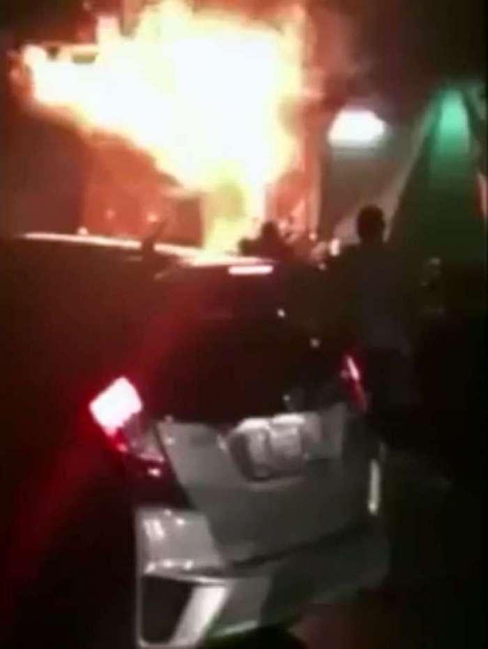 Incêndio em Qingyuan, na China